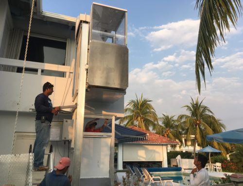 PLI's Outdoor Elevator makes it to Guatemala