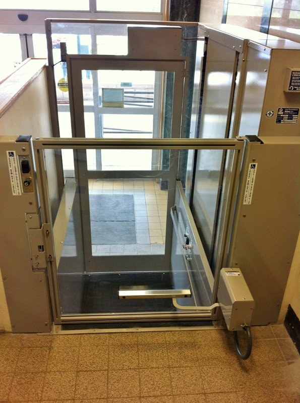 Aspire dc com 2 precision lift industries for 2 story wheelchair lift