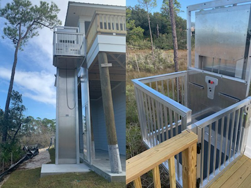 Outdoor Elevators